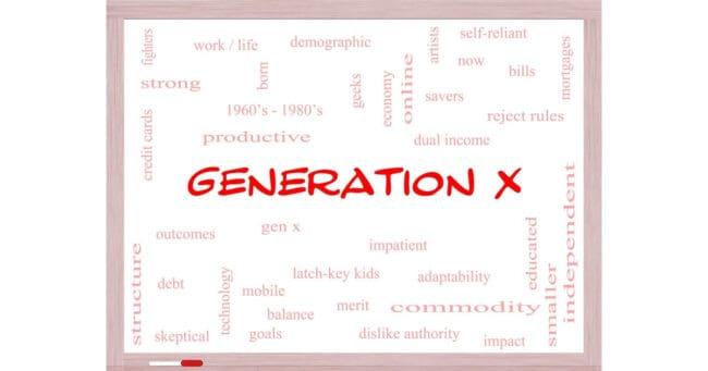 generation x word diagram