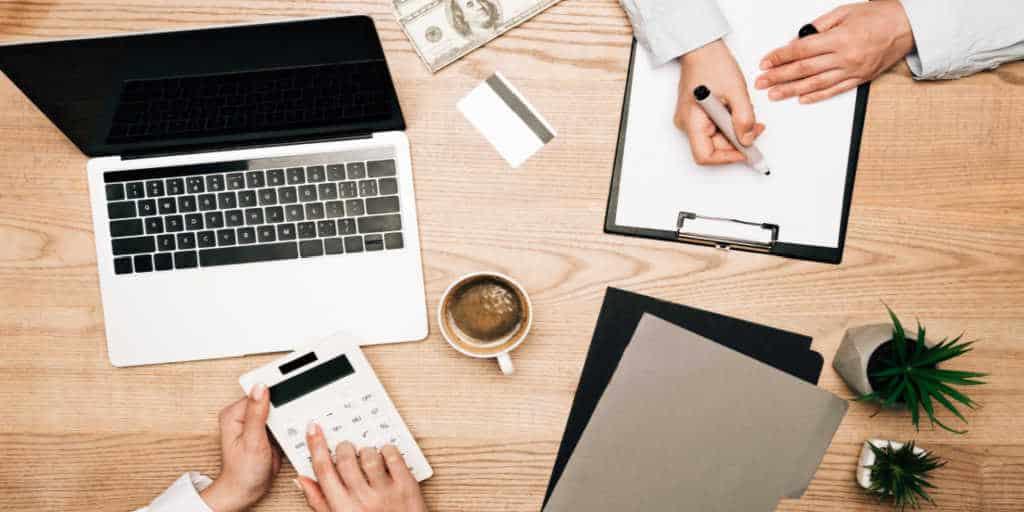 businesswomen reviewing all the financial gaps women face