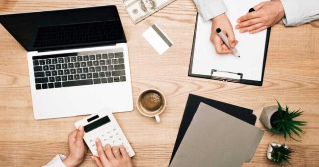 women reviewing the financial gaps women face