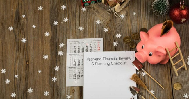 Year-End Financial Review and Planning Checklist