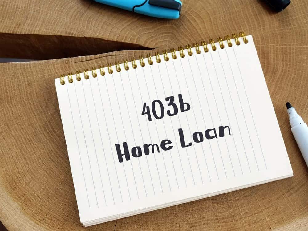 403b home loan