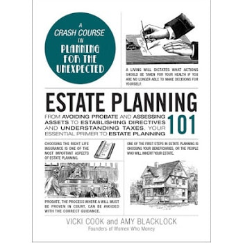 book cover estate planning 101 by vicki cook and amy blacklock women who money