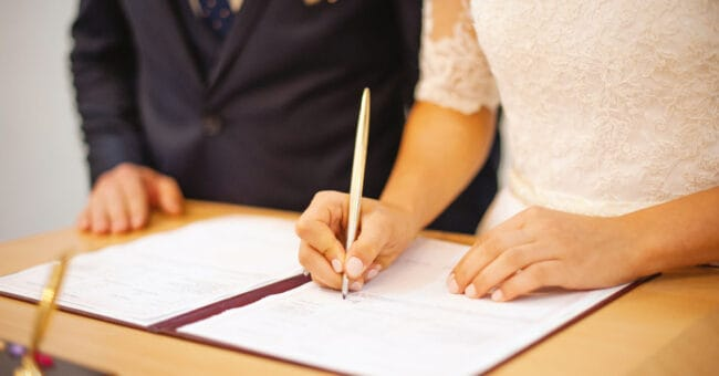 Financial Checklist for the Newly Married